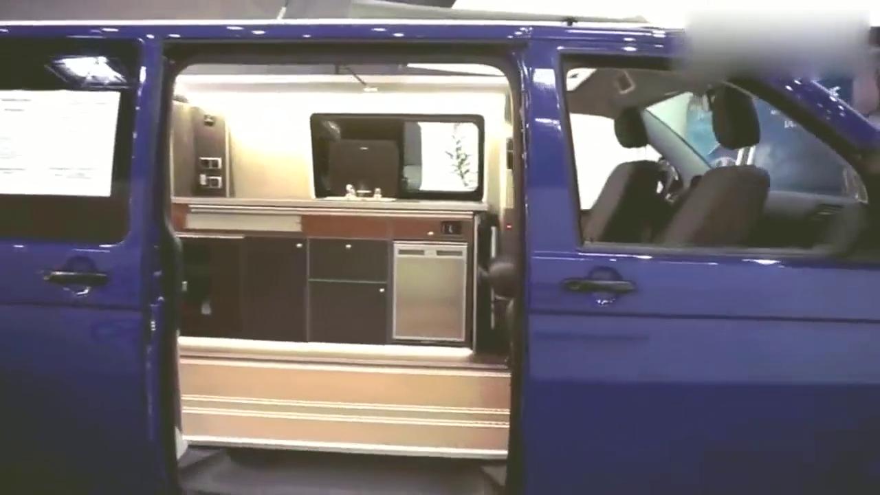 视频:实拍大众T6微型房车!