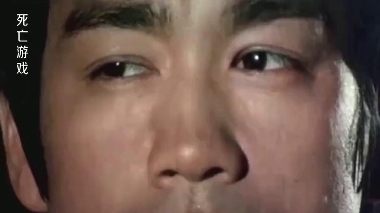 李小龙遗作,这段戏是他一生最后的镜头,电影他没拍完就去世了!