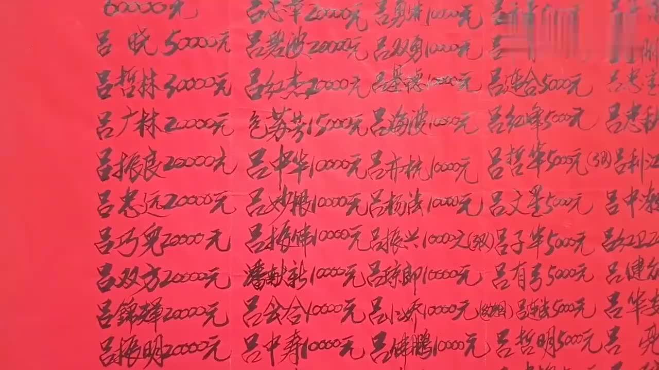 浙江农民真有钱村里建个大会堂村民捐款几百万
