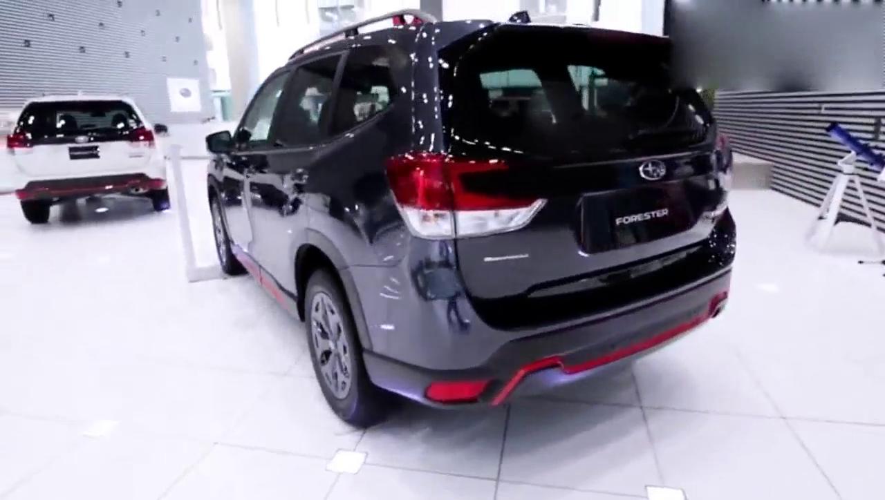 视频:运动性能SUV范 实拍新款斯巴鲁森林人X-Break