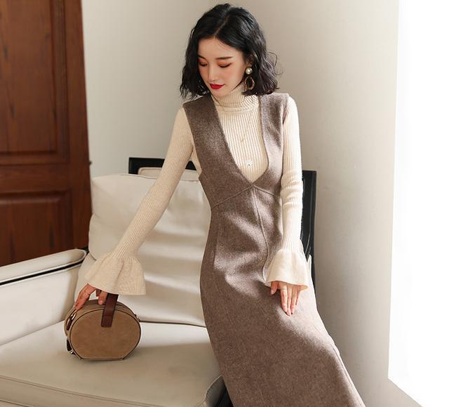 """若手头宽裕!女人一定要有件漂亮""""冬裙"""",尤其这6款,怎搭都美"""