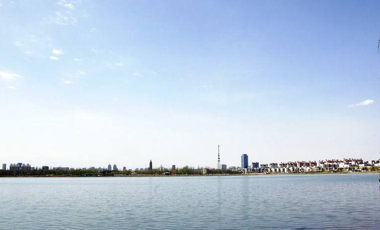 迷人的湖泊湿地和悠闲的水乡风光:银川