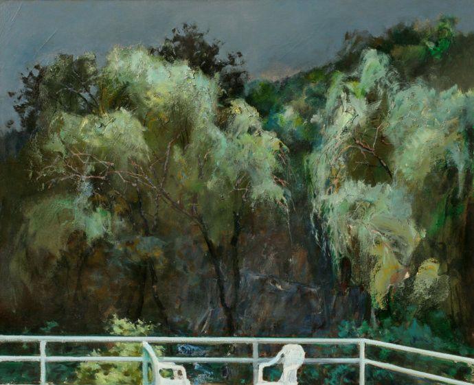 著名油画家崔开玺风景画作品欣赏
