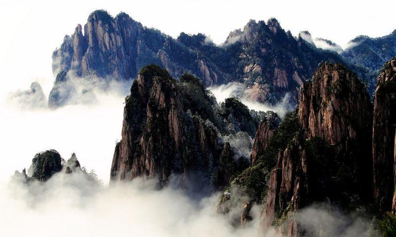 黄山,蜚声中外的旅游胜地,可谓是人间仙境