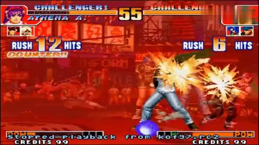 拳皇97这绝对是拉尔夫最严重的bug没有之一