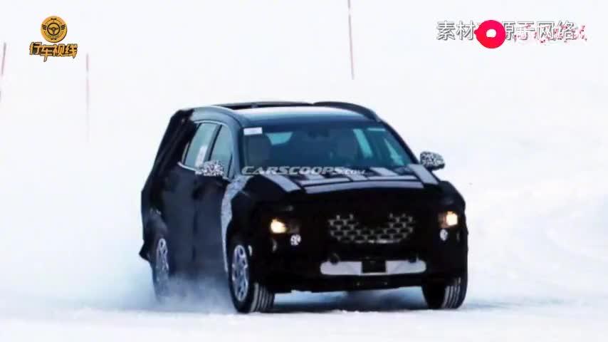 视频:新款现代胜达谍照曝光 可能会增加插电混动版车型
