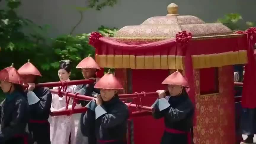 如懿传:古代娶个老婆仪式感很足,中式婚礼还是很受欢迎的