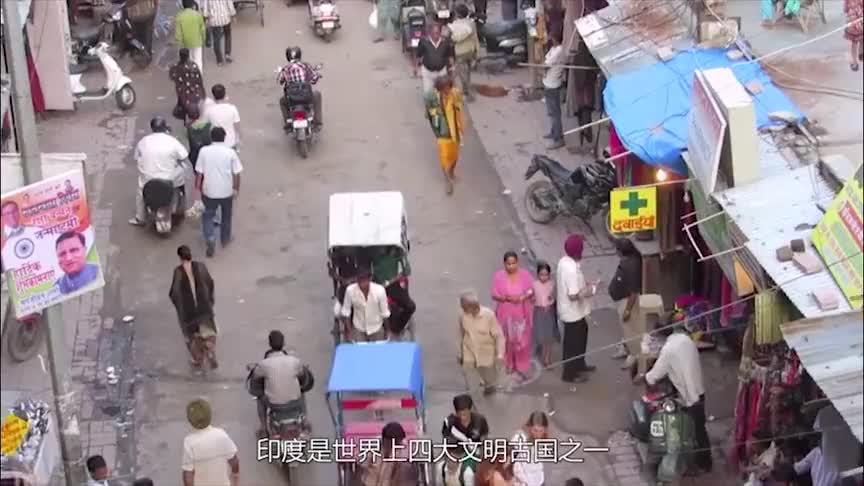 印度大叔问中国游客我月薪5万卢比在中国算是有钱人了吧
