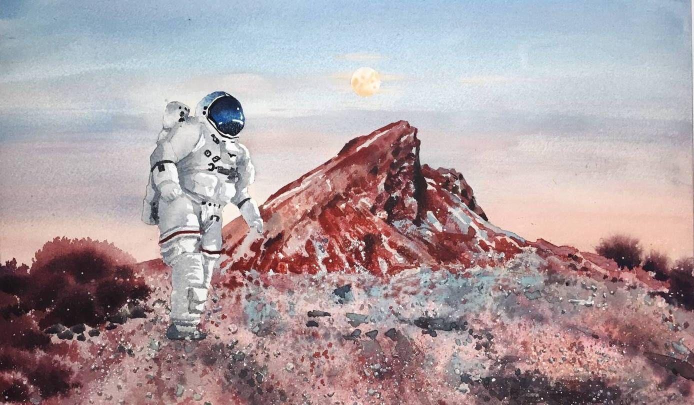 湖北美术学院研究生王清的绘画作品欣赏