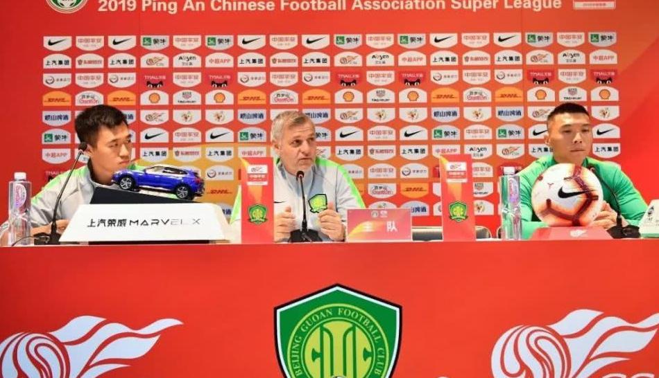 """布鲁诺:""""上海上港是实力强劲的对手,很期待明天的比赛"""""""