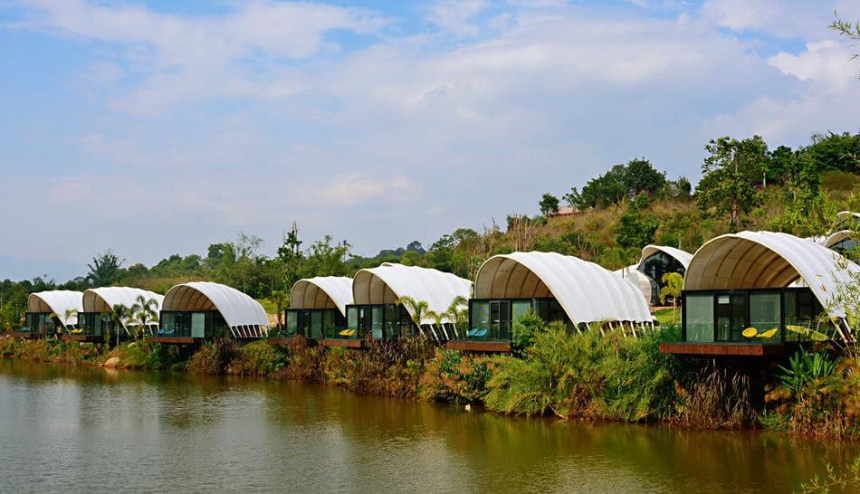 西双版纳,ins风十足的网红酒店,隐秘于北回归线的热带雨林中