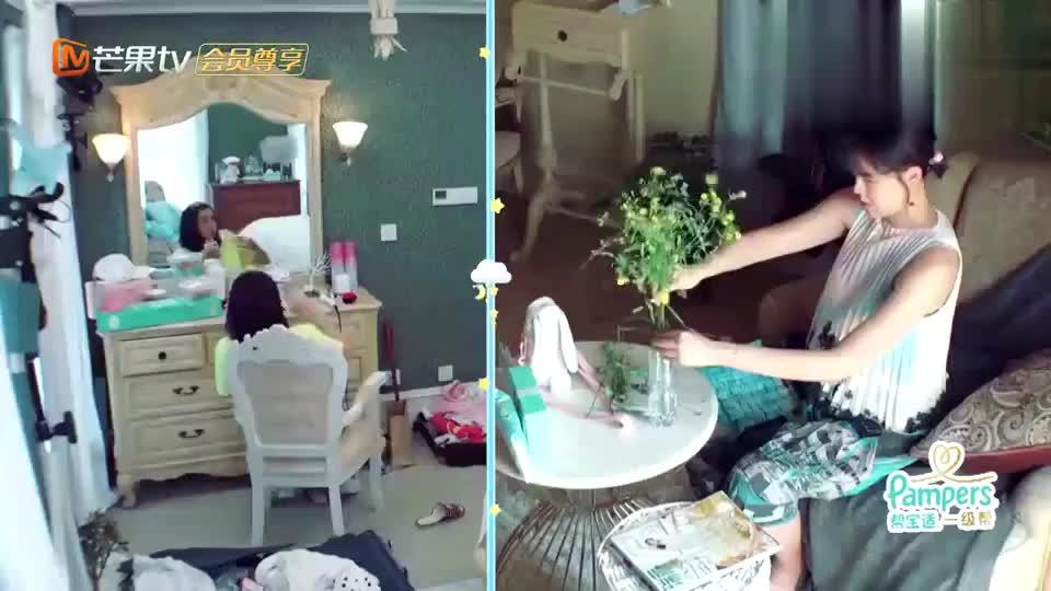 《新生日记》麦迪娜在房间疯狂吃李艾却在学习插花差距一目了然