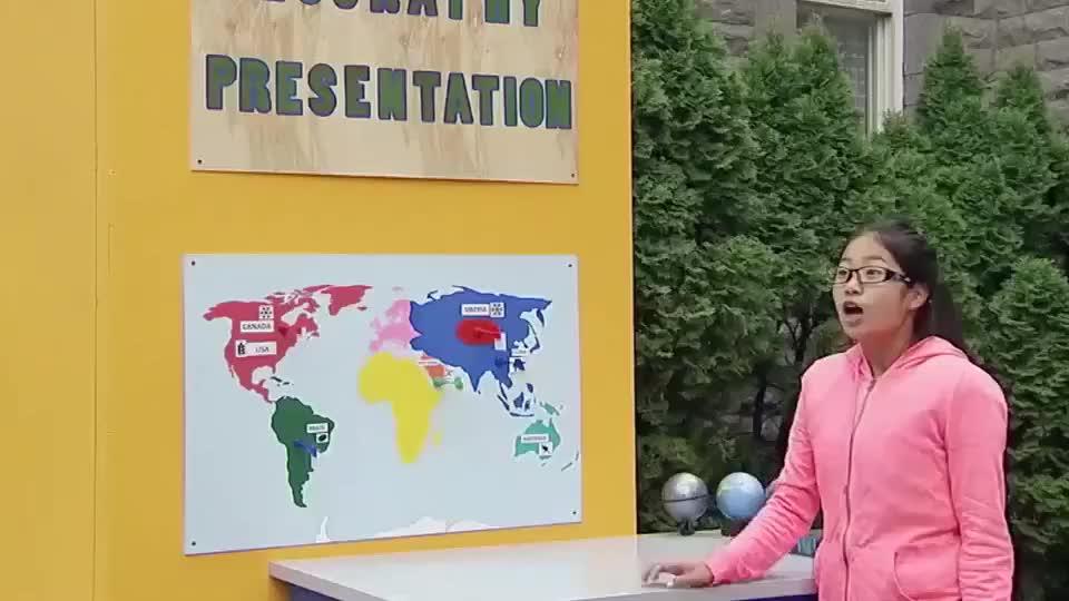 国外爆笑街头恶搞:奇葩的天气预报地图!