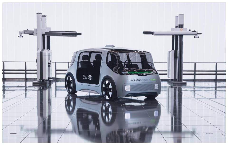 进军未来移动出行,捷豹-路虎推出Project Vector纯电概念车