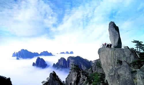 黄山印象:黄山风景名胜区很美,总有一处你忘了回去。