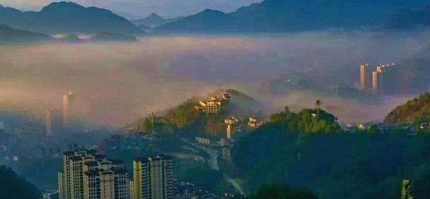 中国最美县域之一,浙江之心,万山之国磐安县