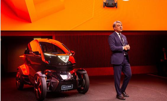 SEAT发表首款城市移动载具,Minimo Concept概念车