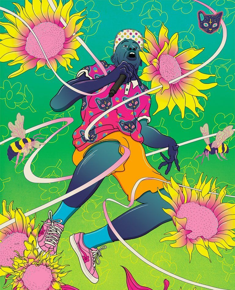 伦敦的艺术家Murugiah创作的超现实主义艺术绘画作品