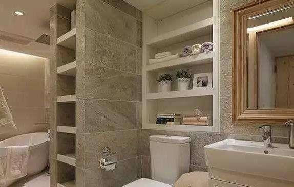 头次见卫生间装这种柜子,省钱实用又不占地,不得不感叹太聪明了
