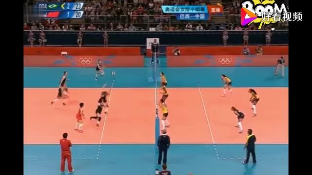 回顾女排面临巴西连续3赛点解说郎平大喊还有机会奇迹来了