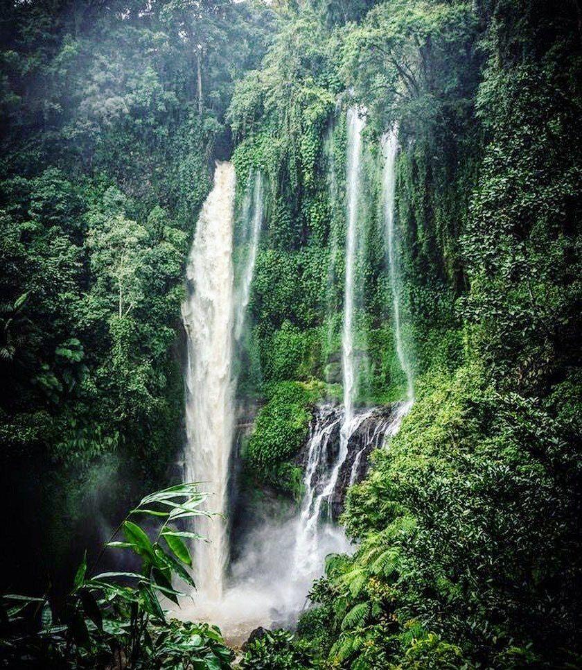印度尼西亚景色:返璞归真的美,梦幻中的大自然