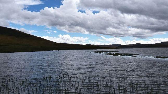 这里气候温暖湿润,绿草如茵,湖水澄清景色迷人