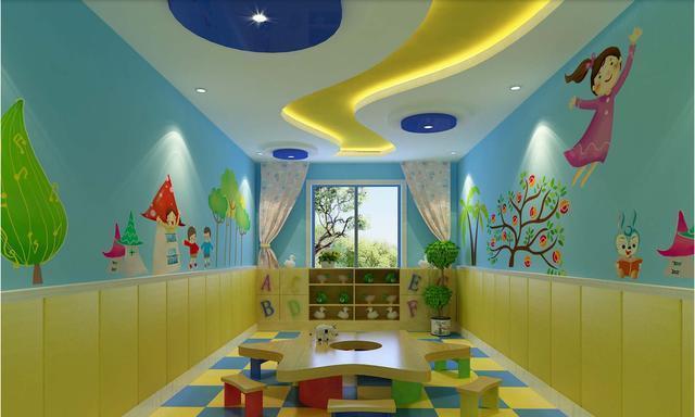 幼儿园文化墙设计制作核心是什么?卡通勾起幼儿的共鸣,兴趣所在