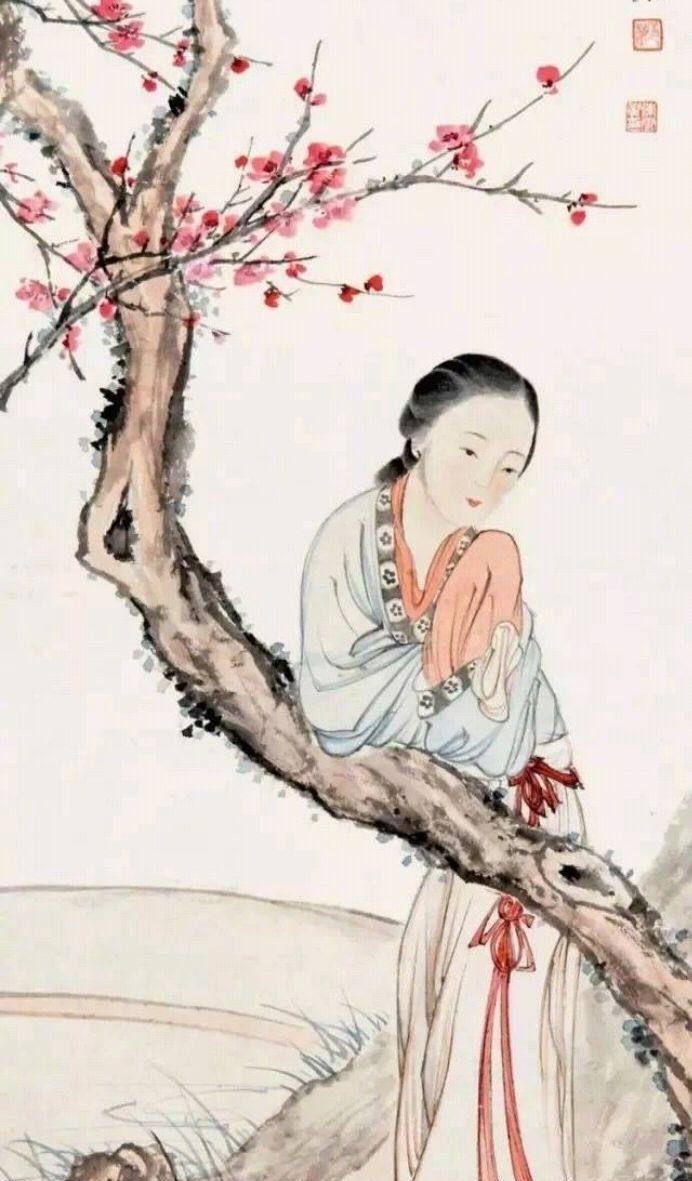 陈少梅的仕女图,独树一帜,人物惟妙惟肖