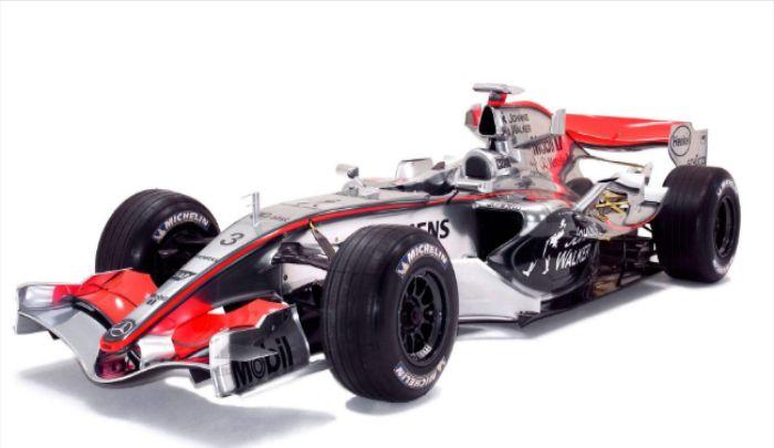 麦克拉伦车队,介绍这组赛车,出彩的车身构造,体现品质
