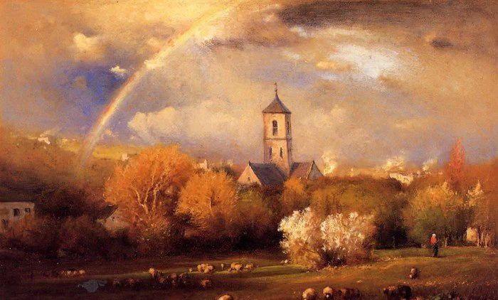 美国著名风景画家George Inness油画作品欣赏
