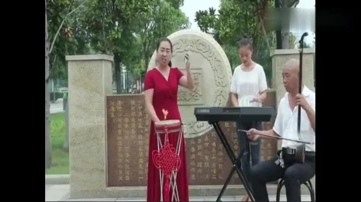 河洛大鼓金钱咏叹调王春红表演说的都是大实话