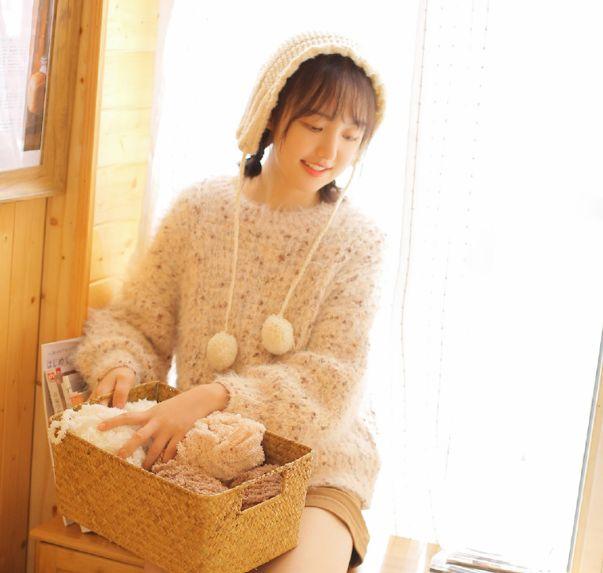 灵气美女,长腿毛衣诱人写真,活泼可爱清新自然