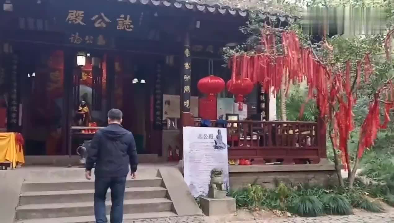 灵谷景区内有个九层塔又称阵亡将士纪念塔南京最高最美的宝塔