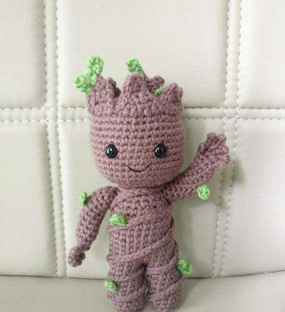 手工毛线编织艺术品:警告,钩针动物再次来袭!