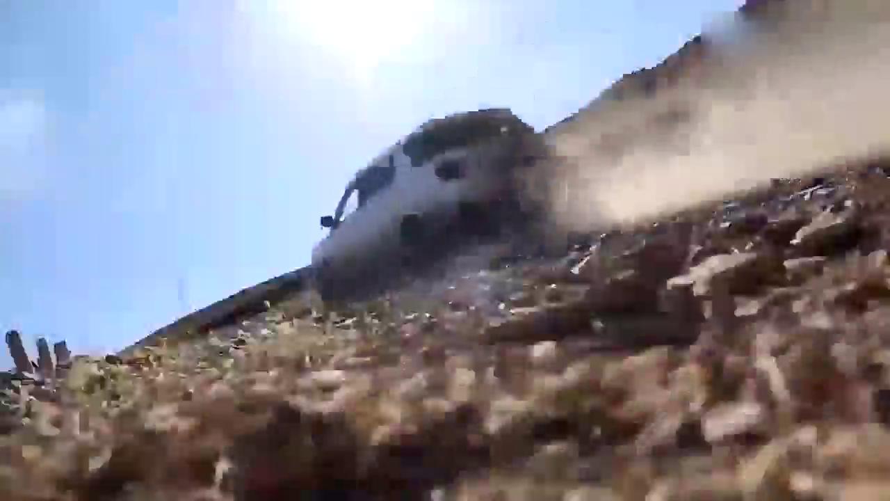 视频:长安CX70T爬坡越野性能展示
