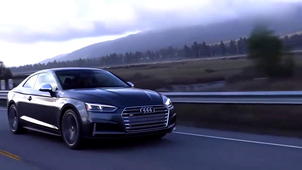 视频:颜值爆表科技感增强 动力更出色 2018奥迪S5 Coupe