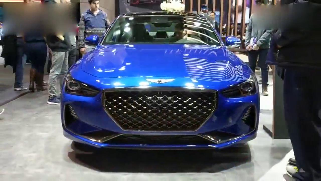 视频:颜值与能力挑战德系轿车,2018加拿大国际车展实拍捷恩斯G70 3