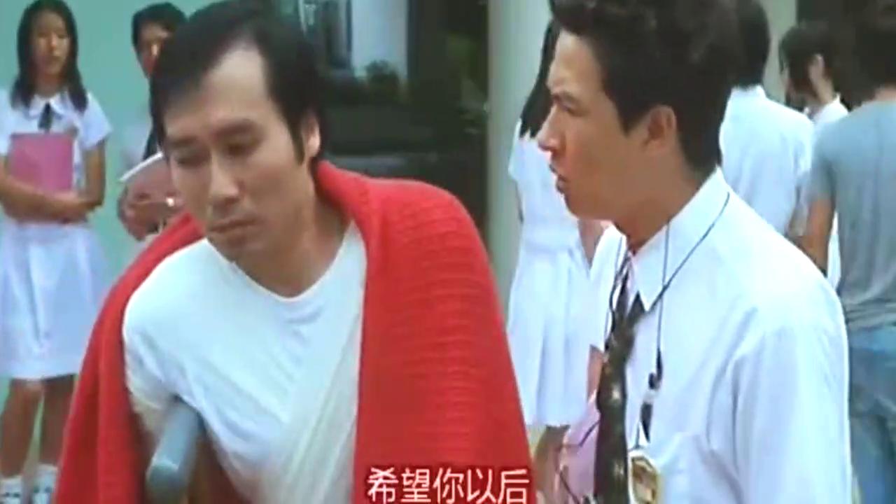 张家辉有个千变万化的上司,上一秒还是苑琼丹,下一秒变成男人