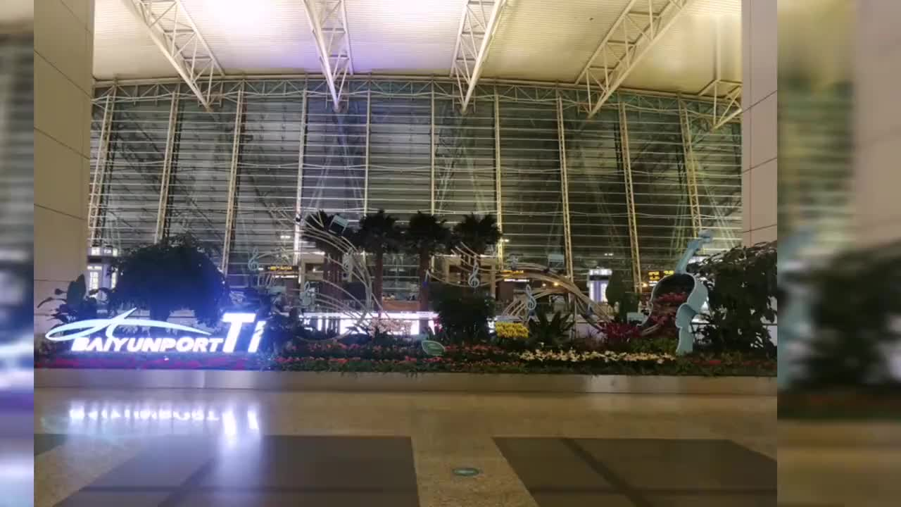 千年海上丝绸之路广州白云机场大型历史文化景观海天走廊
