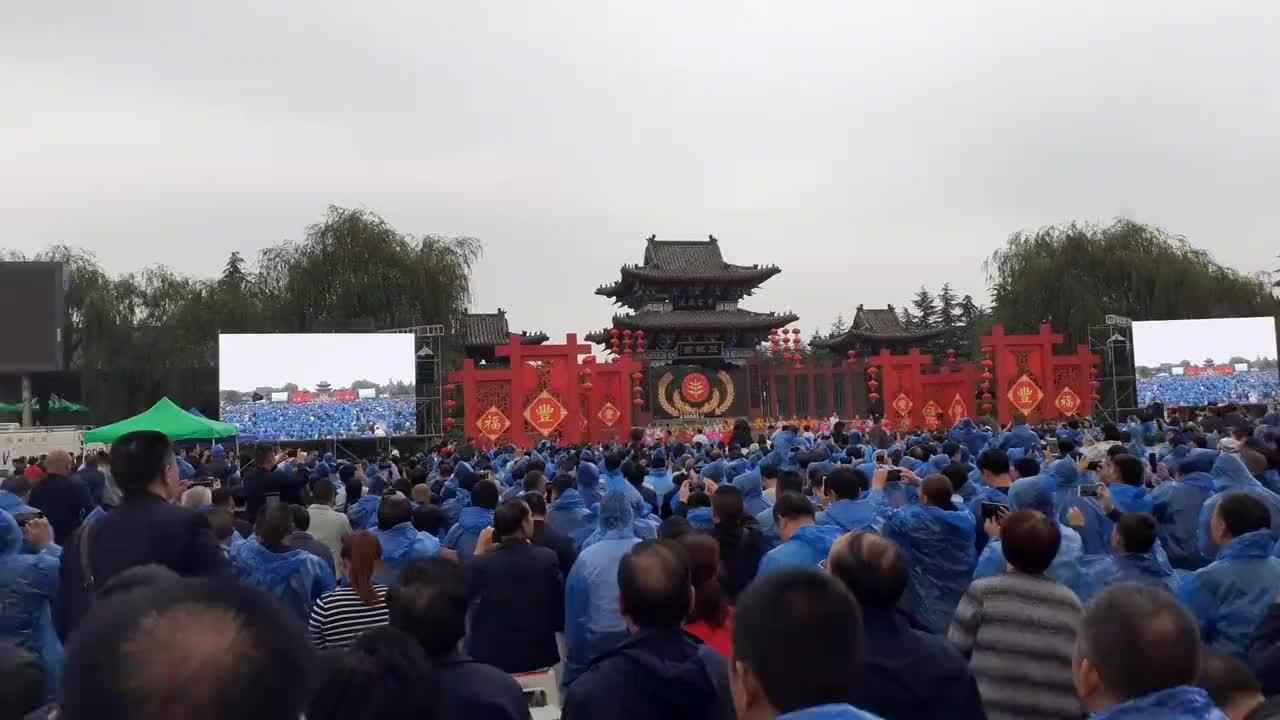 河南郏县2019中国农民丰收节央视在郏县现场