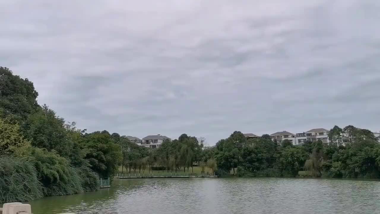 秋水共长天一色四川绵阳这座山上有个湖还在山顶还有白天鹅