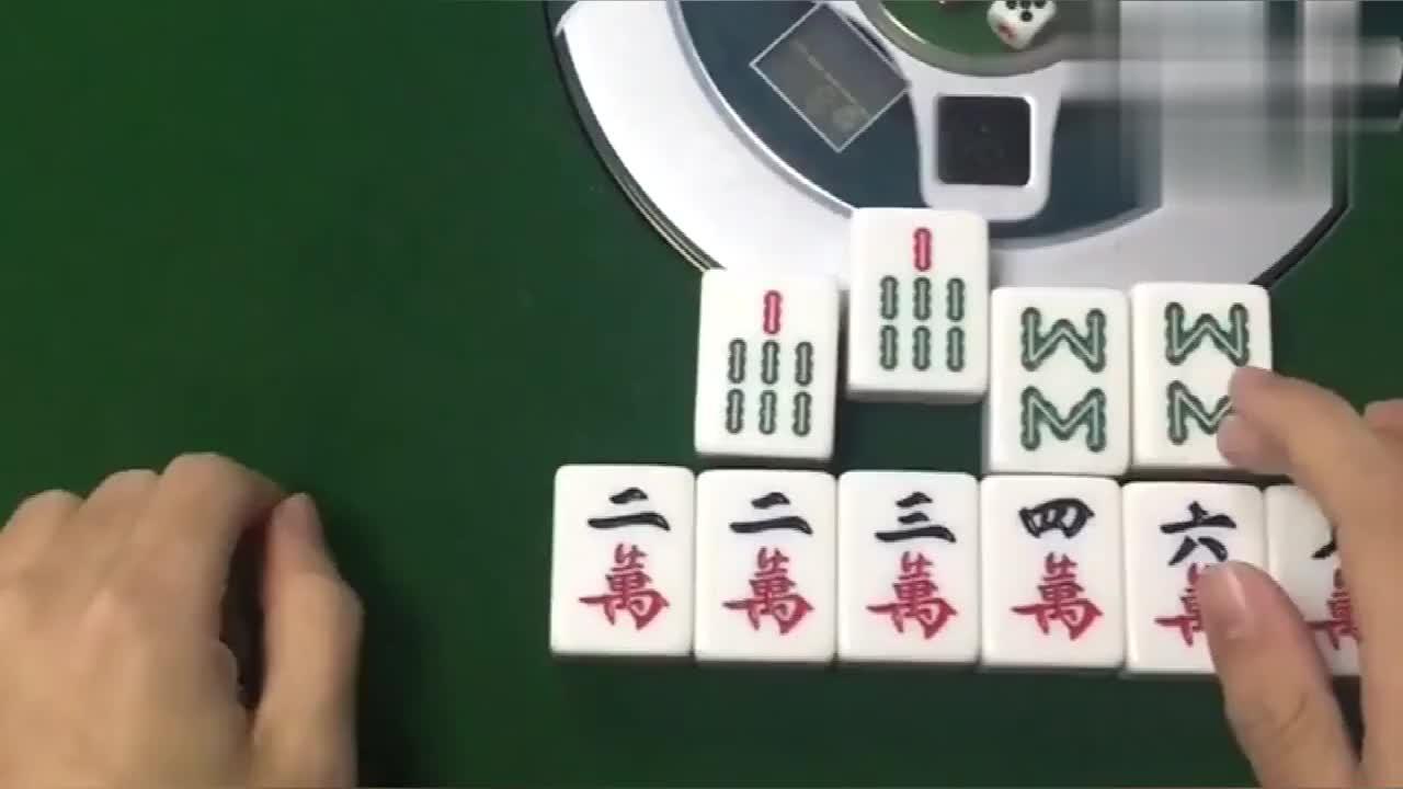 麻将高手攻略最大概率选牌法常人最容易忽略的方法