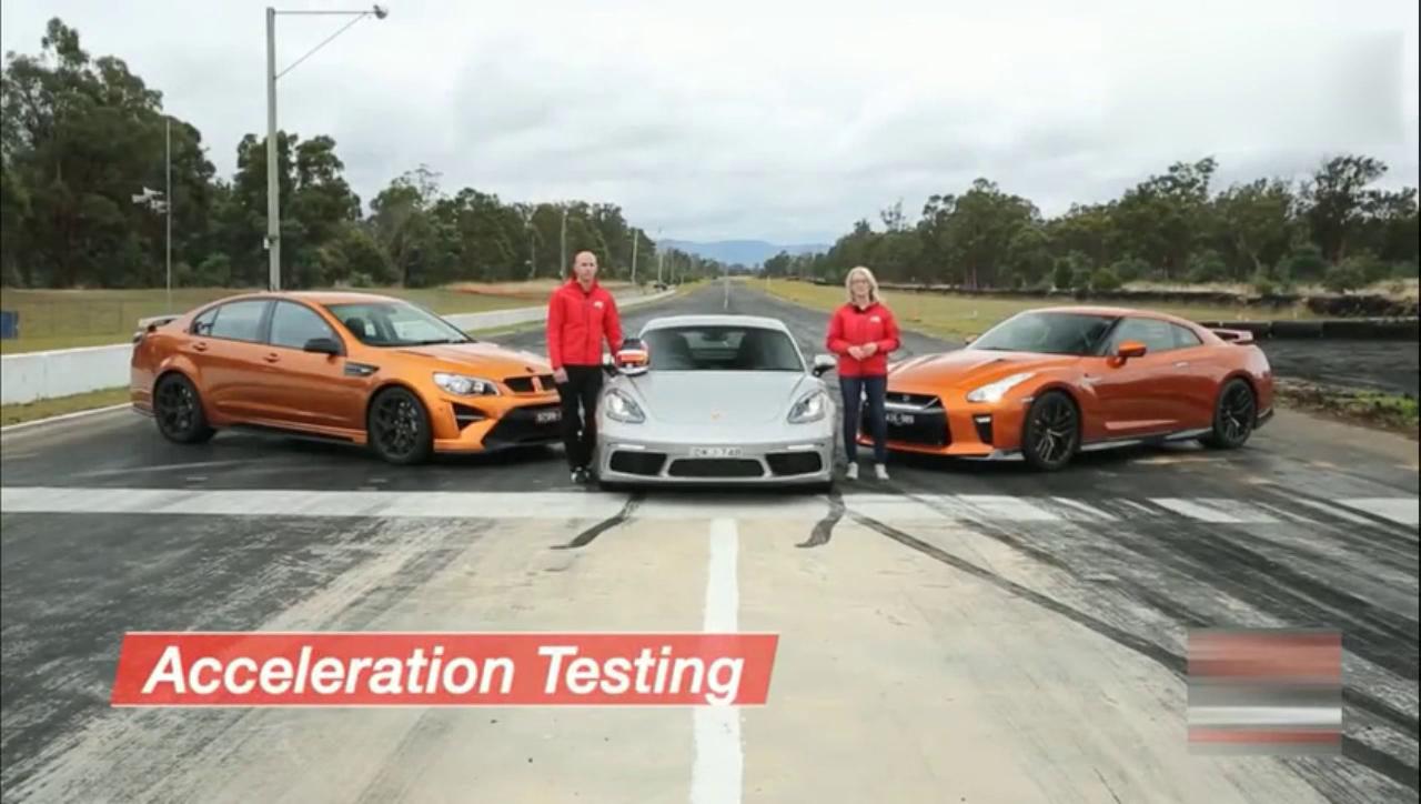 多辆性能车直线加速测试 日产GT-R夺冠