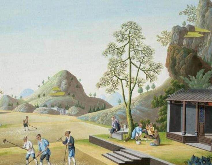 你知道《古代茶作图》外销画吗?历史意义非凡却只能藏在国外!