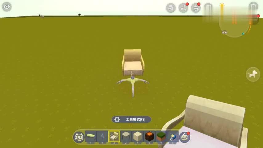 迷你世界迷你电脑椅制作教程配上你家电脑桌刚刚好