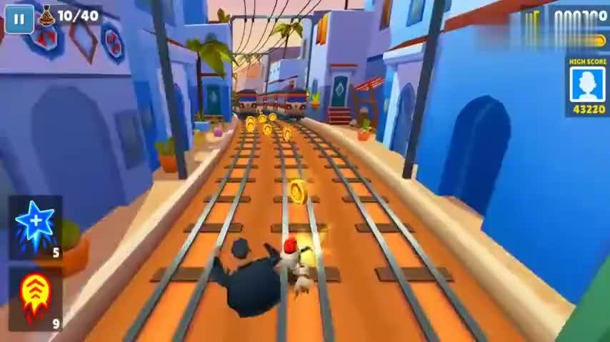 地铁冲浪手马拉喀什全屏第3集游戏高清