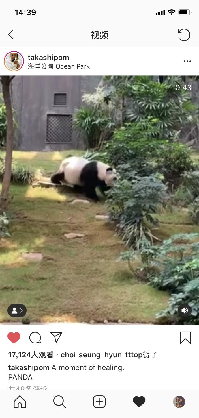 沉迷大自然的崔胜铉,分享的可爱小动物们,也不忘露脸了!!