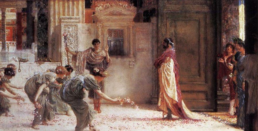 维多利亚时代最著名的高薪艺术家之一Lawrence AlmaTadema作品选