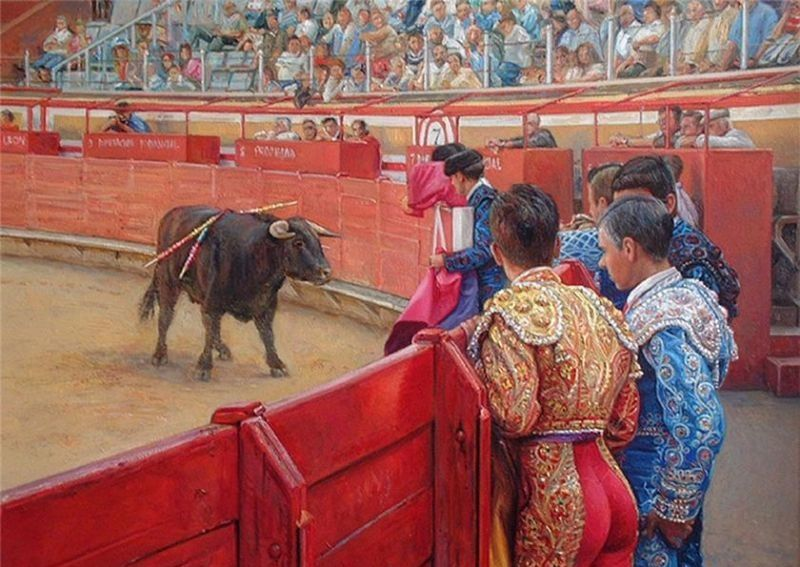 西班牙斗牛士的秘密:艺术大师Antonio Guzman Capel作品欣赏