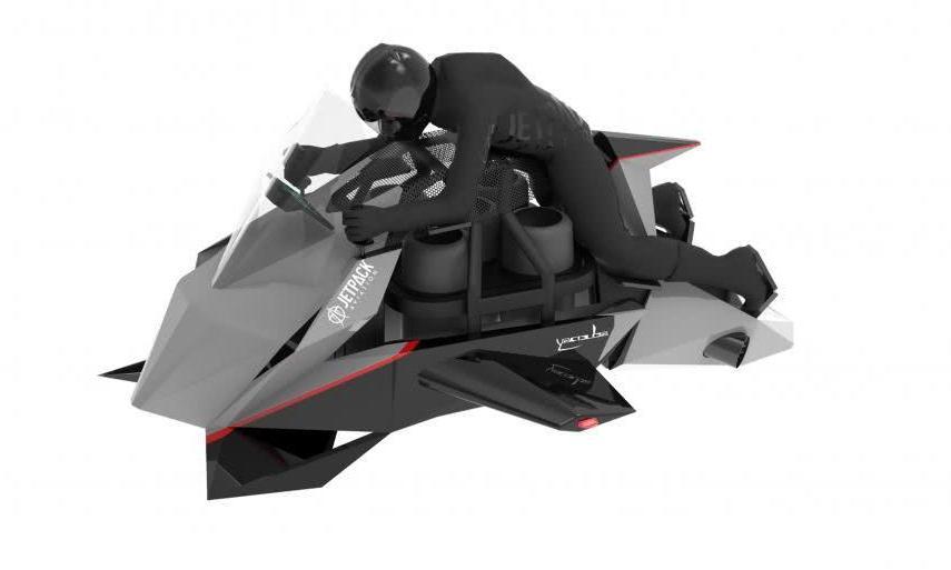 """JPA飞行""""摩托车""""即将投产 售价38万美元"""